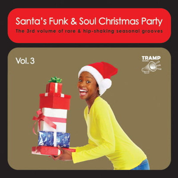Various Artists - Santa's Funk & Soul Christmas Party Vol. 3 - New Vinyl Record 2015 Tramp Records Gatefold Pressing w/ Download