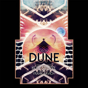 Kurt Stenzel - Jodorowsky's Dune Original Motion Picture Soundtrack - New Vinyl Record 2015 Gatefold 2-LP w/ original art, liner notes by Stenzel & download - Ambient Synth Jamzzz / Soundtrack