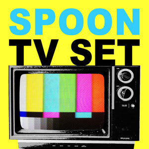 "Spoon - TV Set - New Vinyl Record 2015 Record Store Day Black Friday Limited Edition 10"" Cover of 'The Cramps' TV Set"
