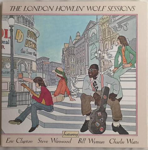 Howlin' Wolf - The London Sessions (1972) - New Vinyl Record 2015 Record Store Day Black Friday Deluxe Gatefold 180gram w/ Individual Foil Number, Limited to 3,500 - Chicago Blues / Blues Rock