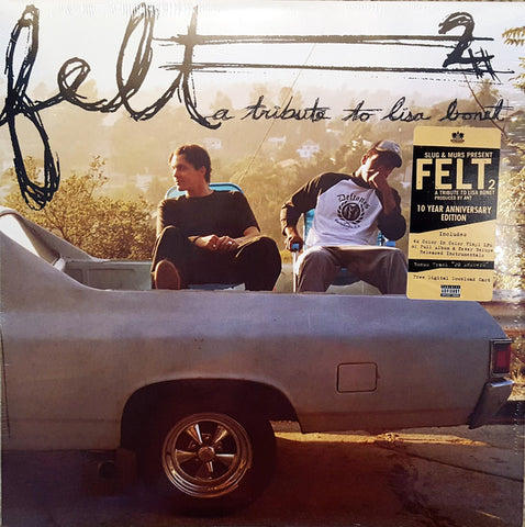 Felt – Felt 2: A Tribute To Lisa Bonet (2005) - New 4 Lp Record Store Day Black Friday 2015 Rhymesayers USA RSD Green & Yellow Vinyl & Download - Hip Hop