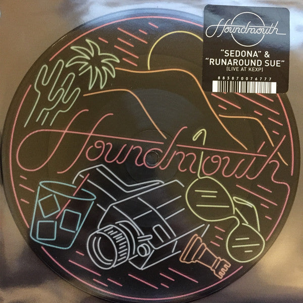 "Houndmouth - Sedona - New Vinyl 2015 Record Store Day Black Friday Picture Disc 7"" - Limited to 1800 copies - Folk Rock / Americana"