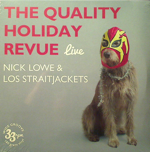Nick Lowe & Los Straitjackets - New Vinyl Record 2015 Record Store Day Black Friday Limited Edition (1500 copies!) - Rock & Roll / New Wave