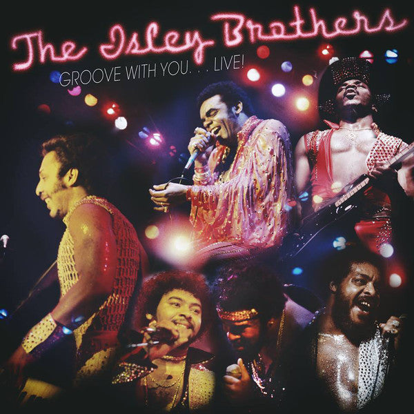 The Isley Brothers - Groove With You... Live! - New 2 Lp 2015 Record Store Day Black Friday 2015 T-Neck/Epic USA Gold & Blue Vinyl - Funk / Soul