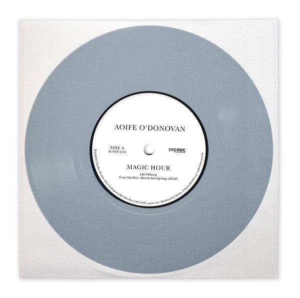 "Aoife O'Donovan - Magic Hour - New 7"" Vinyl - 2015 Record Store Day Black Friday Limited Edition Blue Vinyl (Limited to 500 Copies) - Folk / World / Country"