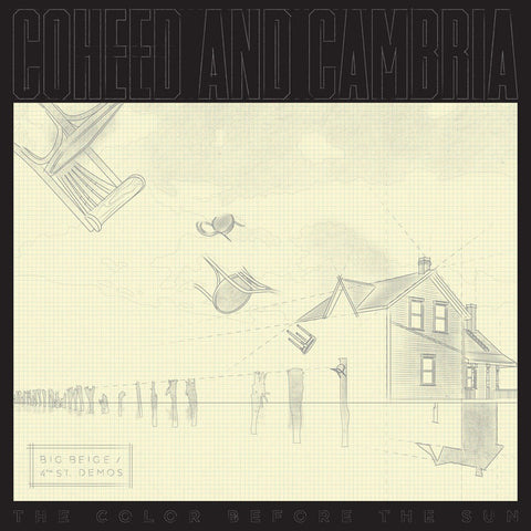 Coheed And Cambria ‎– The Color Before The Sun (Big Beige / 4th Street Demos) - New Lp Record 2015 Record Store Day Black Friday Clear Vinyl Mispress - Prog Rock