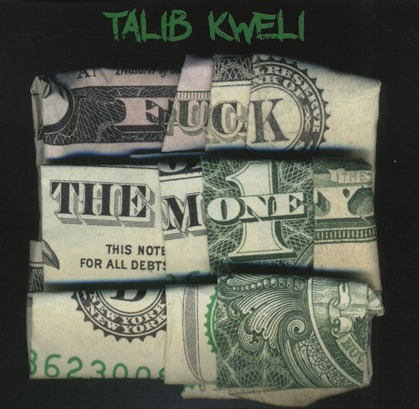 Talib Kweli - Fuck The Money - New Vinyl Record 2015 2-LP Special Edition with Etched 4th Side - Rap / HipHop