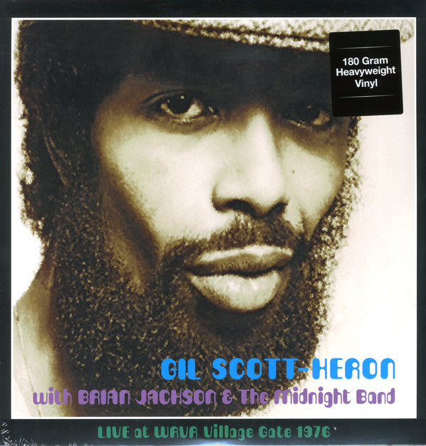 Gil Scott-Heron & Brian Jackson & The Midnight Band – Live at WRVR Village Gate, NYC 1976 - New Vinyl Record 2015 (Europe Import 180 Gram) - Funk