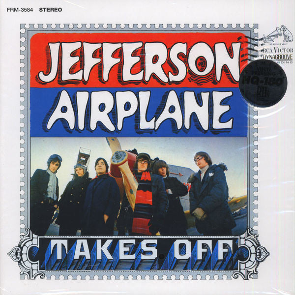 Jefferson Airplane - Takes Off (1966) - New VInyl 2015 RCA / Friday Music 180 gram Reissue on Translucent Blue Vinyl - Psych Rock (classic)