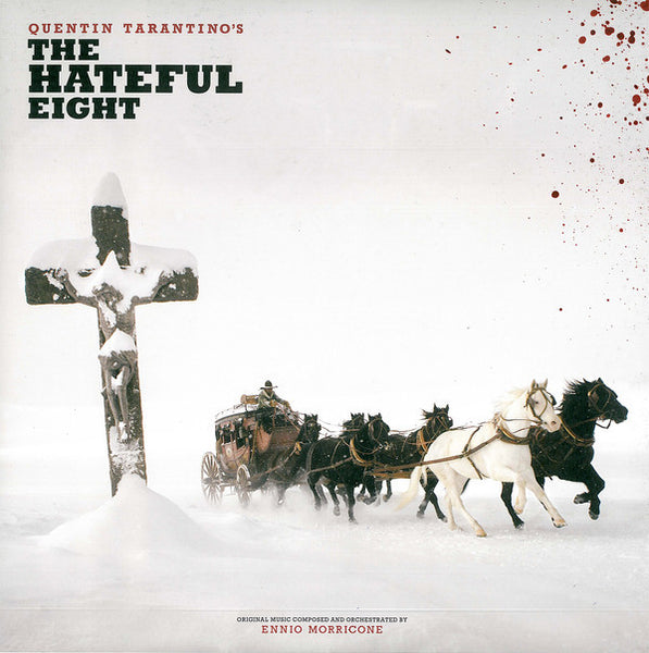 Soundtrack / Quentin Tarantino - The Hateful Eight - New Vinyl 2015 Third Man USA Deluxed Tri-Fold 2-LP Pressing w/ 12 Page Booklet and 2 Posters!