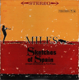 Miles Davis ‎– Sketches Of Spain - VG+ Lp Record (Low grade cover) 1974 Reissue Orig 1960 USA Stereo Original Vinyl - Jazz
