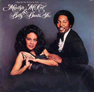 Marilyn McCoo & Billy Davis, Jr. ‎– I Hope We Get To Love In Time - VG+ 1976 Stereo USA - Soul / Disco