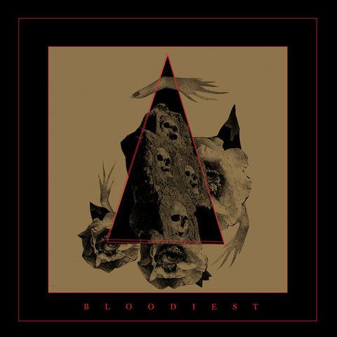 Bloodiest - S/T - New Vinyl Record 2016 Relapse Records 'Blood-Red' Vinyl Pressing - Chicago IL Experimental / Post-Metal / Sludge