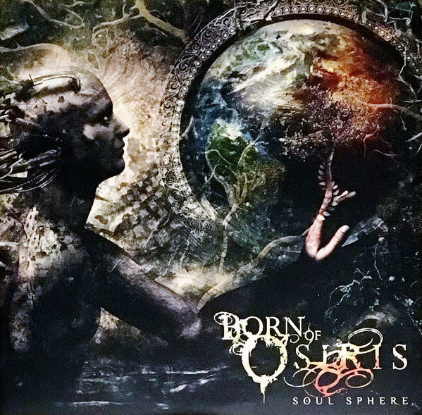 Born of Osiris - Soul Sphere - New Vinyl Record 2016 Sumerian Records Limited Edition Marble White / Lunar Moon Vinyl w/ Tri-Fold Cover - Progressive Metal