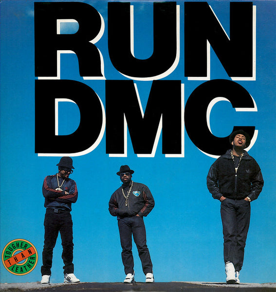 RUN DMC ‎– Tougher Than Leather - VG+ 1988 USA Original Press - Hip Hop