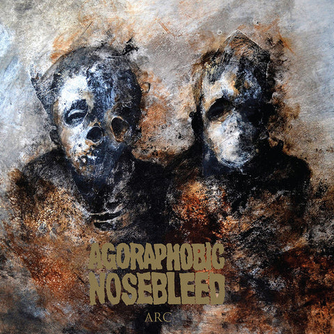 "Agoraphobic Nosebleed - ARC - New 12"" Single 2016 Relapse Indie Exclusive Limited Edition Grey Vinyl - Grindcore / Sludge / Doom"