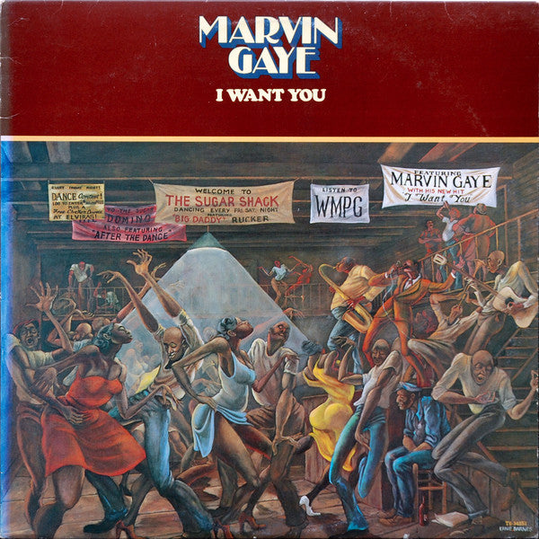 Marvin Gaye - I Want You - VG+ Stereo 1976 Tamla (Original Press) USA - Soul/Funk - B10-007