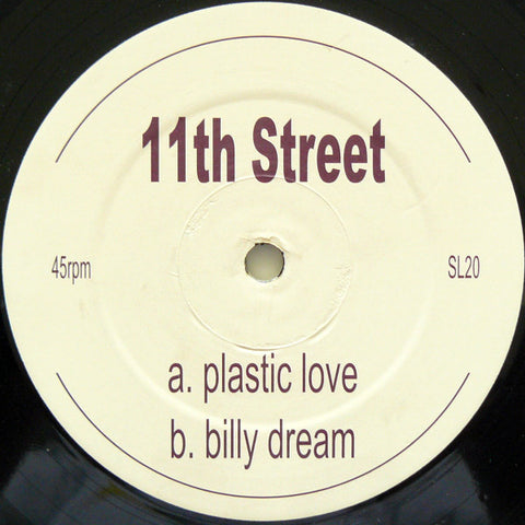 "11th Street - Plastic Love / Billy Dream 12"" Single 2002 UK Import - House - Shuga Records Chicago"