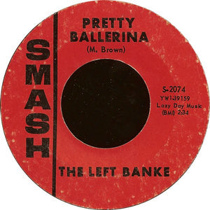 "The Left Banke - Lazy Day / Pretty Ballerina VG 7"" Single 45 Record 1966 USA - Garage Rock"