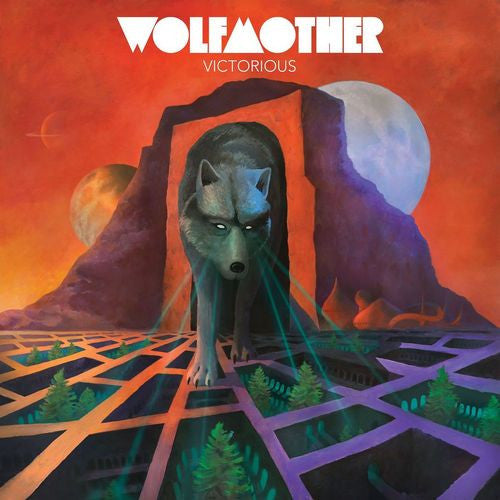 Wolfmother - Victorious - New Lp Record 2016 USA 180 gram Vinyl & Download & 3D Lenticular Cover - Hard Rock