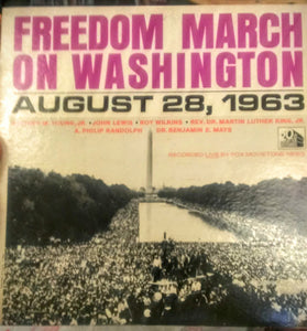 Freedom March on Washington - August 28,1963 - VG+ Mono 1963 20th Century Fox USA - B10-068