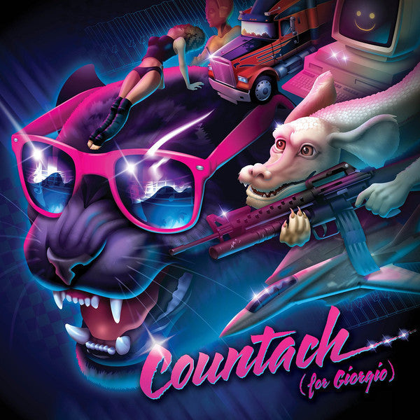 Shooter Jennings ‎– Countach (For Giorgio) - New Vinyl Record 2016 (Limited Edition Pink Translucent Vinyl) - New Wave/Country Rock