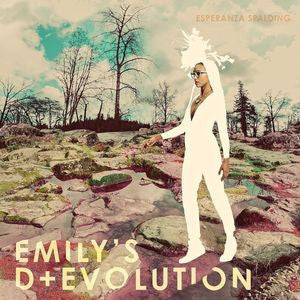 Esperanza Spalding - Emily's D+Evolution - New Vinyl Record 2016 Concord Jazz Limited Edition Gatefold 180gram LP + Download - Jazz / Rock / Fusion