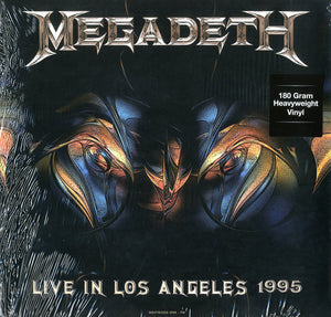 Megadeth ‎– Live At Great Olympic Auditorium In Los Angeles - February 25, 1995 - New Vinyl Record (Europe Import 180 Gram Limited Edition) 2015 - Metal/Rock