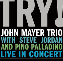 John Mayer Trio - Try! - New Vinyl Record 2005 Aware / Columbia 2-LP Pressing - Blues/Rock/Pop