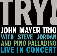 John Mayer Trio - Try! - New Vinyl 2005 Aware / Columbia 2-LP Pressing - Blues/Rock/Pop