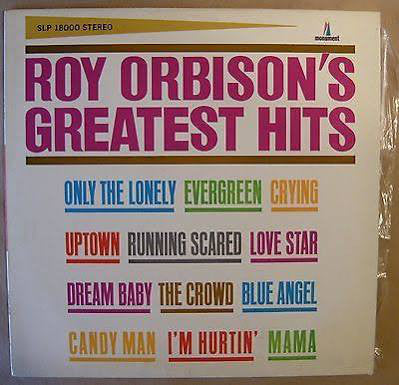 Roy Orbison ‎– Roy Orbison's Greatest Hits - VG Lp Record 1967 Monument Mono USA Vinyl - Pop Rock