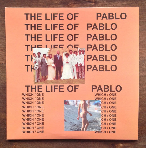 Kanye West ‎– The Life Of Pablo (2016) - New 2 Lp Record 2018 Europe Import Clear Vinyl - Hip Hop