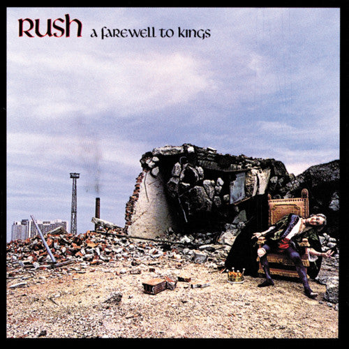 Rush ‎– A Farewell To Kings - VG+ 1977 Stereo Canada Import - Rock