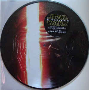 John Williams - Star Wars: The Force Awakens - New 2 Lp Record 2016 Walt Disney USA Picture Disc Vinyl - Soundtrack