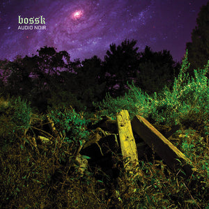 Bossk - Audio Noir - New Vinyl Record 2016 Deathwish Inc Limited Edition Black w/ Trans Purple (only 300 made!) - Post-Metal / Sludge