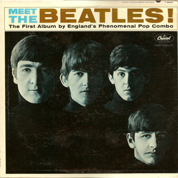 The Beatles - Meet the Beatles! (1964) - VG+ Lp Record (Lower Grade Cover) 1970's Red Lable Press USA Vinyl - Rock