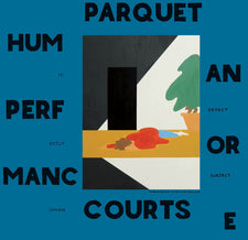 Parquet Courts - Human Performance - New Vinyl 2016 Rough Trade Deluxe Gatefold w/ 16 Art Panels + Download - Indie Rock / Post-Punk