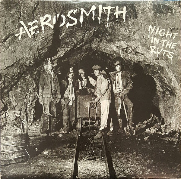 Aerosmith ‎– Night In The Ruts - VG+ Stereo 1979 (Original Press WIth Matching Inner Sleeve) USA - Rock