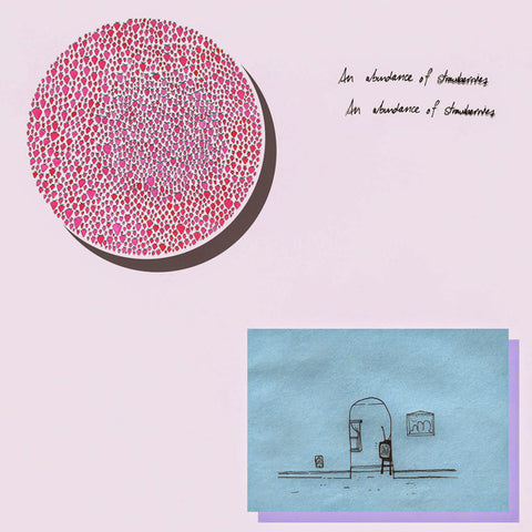 Julia Brown - An Abundance of Strawberries - New Cassette 2016 USA Orange Tape - Indie Pop