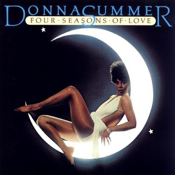Donna Summer - Four Seasons Of Love - VG+ Lp Record 1976 USA (Calendar Poster Included) Original Vinyl - Disco / Synth-Pop