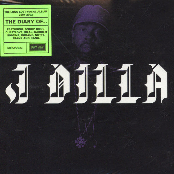"J Dilla - Jay Dee - The Diary - New Vinyl Record 2016 Pay Jay Record Store Day Limited Edition of 4000, w/ bous 7"", Download + 12 Page Book - Rap / HipHop / GOAT"