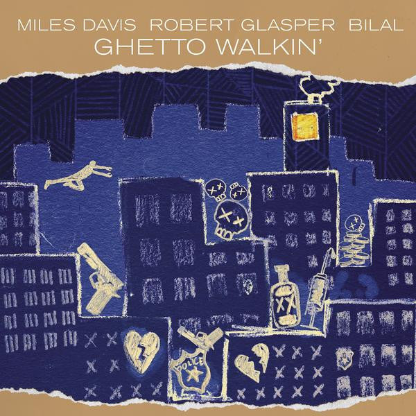 Miles Davis / Robert Glasper - Everything's Beautiful - New Vinyl Record 2016 Columbia / Blue Note LP - Jazz (FU: Robert Glasper)