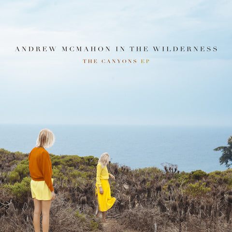 "Andrew McMahon in the Wilderness - The Canyons EP - New 10"" Record Store Day 2016 Vanguard USA RSD Gold & White Marble Vinyl - Alternative Rock / Pop Rock"