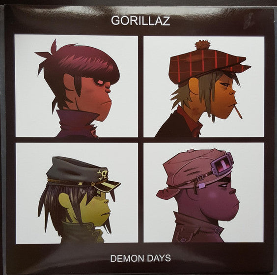 Gorillaz - Demon Days (2005) - New 2 Lp Record 2017 Europe Import Black Marble Vinyl - Pop / Trip Hop / Hip Hop