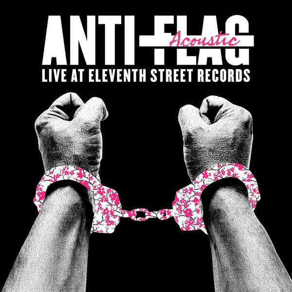 Anti-Flag - Live Acoustic at 11th Street Records - New Vinyl 2016 A-F Records Record Store Day Press - Punk Rock