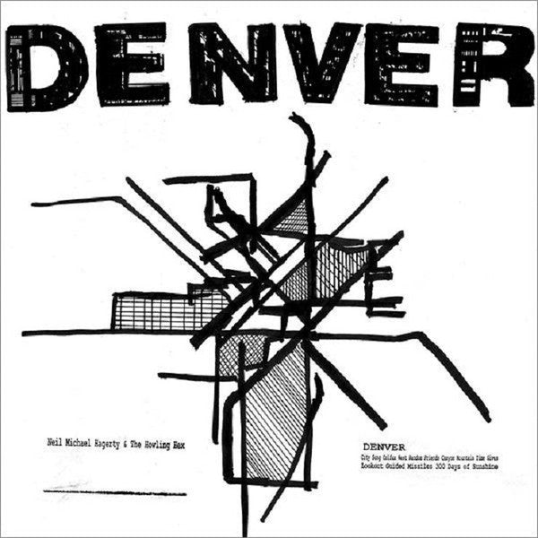 Neil Michael Hagerty & The Howling Hex - Denver - New Vinyl 2016 Drag City USA LP + Download - Indie / Folk Rock