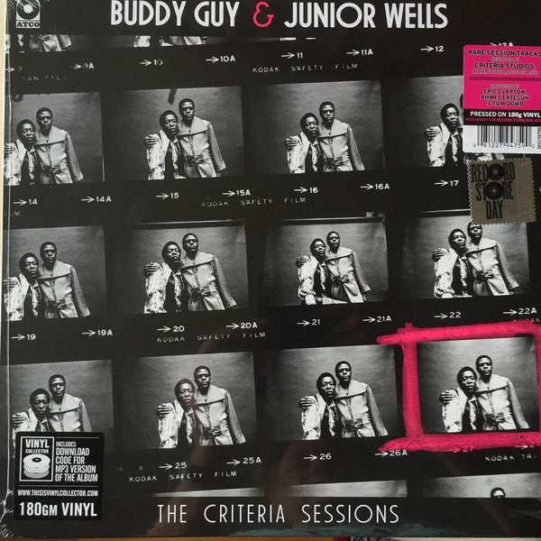 Buddy Guy & Junior Wells - The Criteria Sessions - New Vinyl Record 2016 Rhino Record Store Day 180gram Limited Edition - Blues