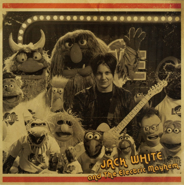 Jack White feat. the Muppets - You Are The Sunshine of My Life - New Vinyl Record 2016 Third Man Record Store Day 7""