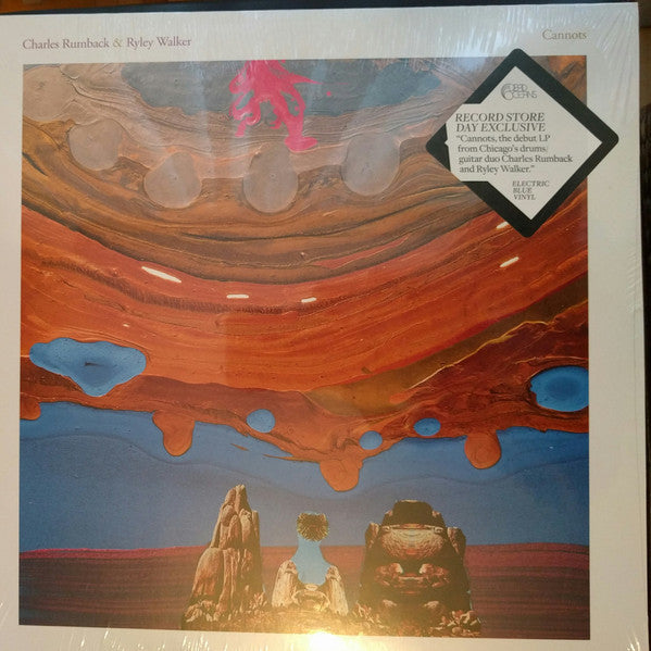 Charles Rumback & Ryley Walker - Cannots - New Vinyl Record 2016 Dead  Oceans Record Store Day Electric Blue Vinyl, Limited to 750 - World / Folk  /