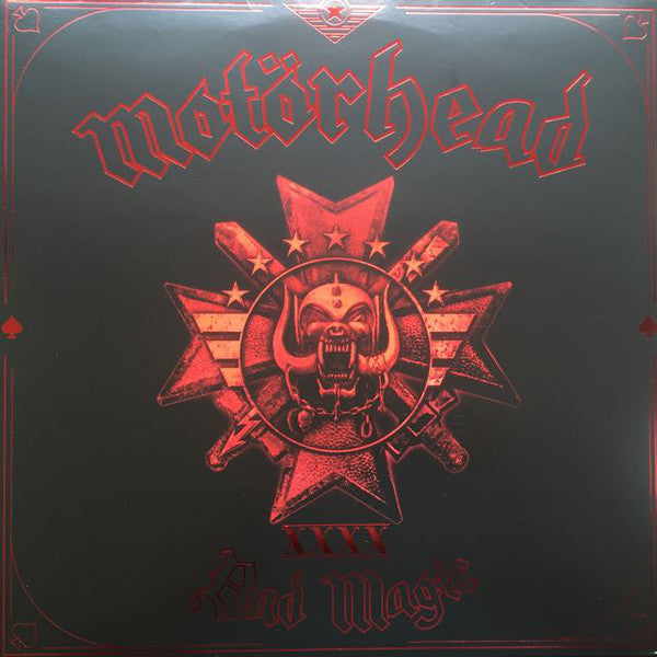 Motorhead - Bad Magic - New Vinyl Record 2016 UDR Limited Edition Indie Exclusive Red Vinyl - Metal / 'Classic'
